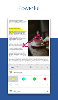 اپلیکیشن Microsoft Word: Write, Edit & Share Docs on the Go مایکروسافت ورد