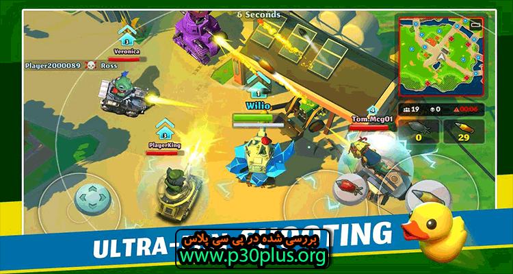 PvPets : Tank Battle Royale دانلود بازی نبرد حیوانات اهلی 1.4.1.10225 + مود اندروید
