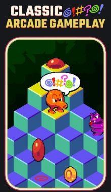 Qbert نسخه شبیه سازی شده بازی کیوبرت