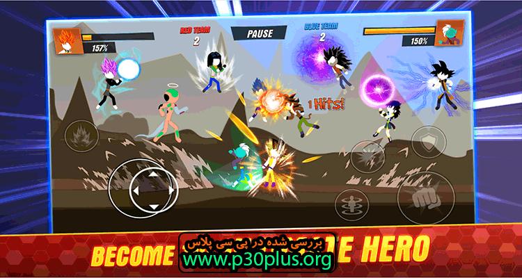 Super Stickman Shadow دانلود بازی سایه استیکمن و نبرد اژدها 2.0.3 + مود اندروید