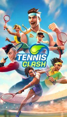 Tennis Clash : 3D Sports - Free Multiplayer Games دانلود بازی برخورد تنیس