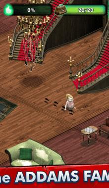 """بازی The Addams Family - Mystery Mansion """"خانواده آدامز : عمارت مرموز"""""""