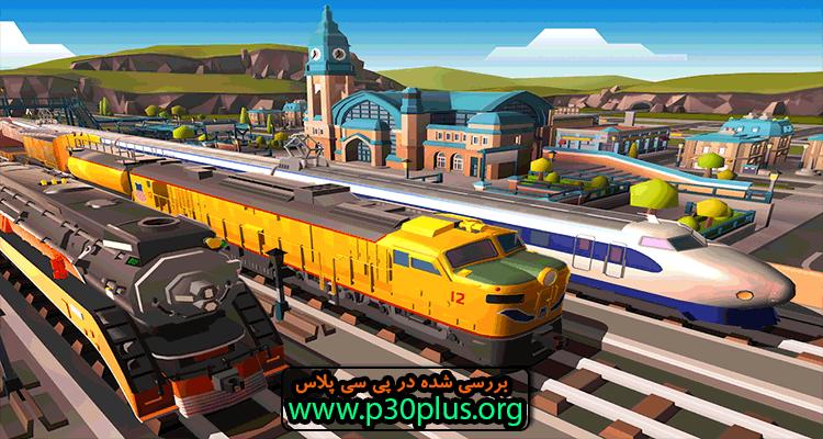 دانلود بازی Train Station 2 Tycoon Sim ایستگاه قطار 2 (v1.14.1) + مود اندروید