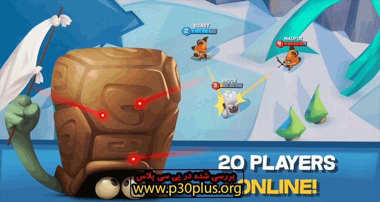 دانلود بازی Zooba Zoo Battle Arena اکشن زوبا2.18.1 + مود اندروید