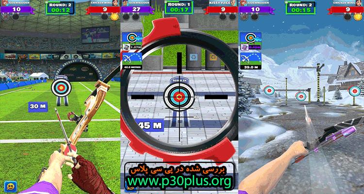 Archery Club : PvP Multiplayer دانلود بازی باشگاه تیر اندازی 2.18.5 + مود اندروید
