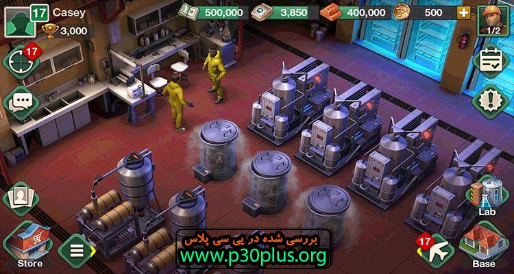 Breaking Bad : Criminal Elements دانلود بازی بریکینگ بد 1.23.0.329 + مود اندروید