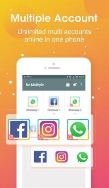 DO Multiple Accounts - Infinite Parallel Clone App اپلیکیشن شبیه سازی برنامه ها