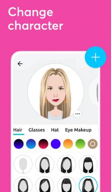 Mirror Avatar Maker دانلود اپلیکیشن ساخت استیکر و آواتار شخصی