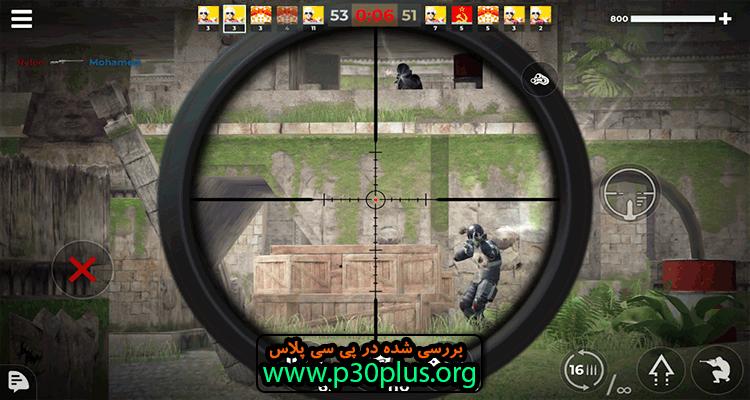 AWP Mode : Elite online 3D FPS دانلود بازی اکشن جنگ اسنایپر ها 1.8.0 + مود اندروید