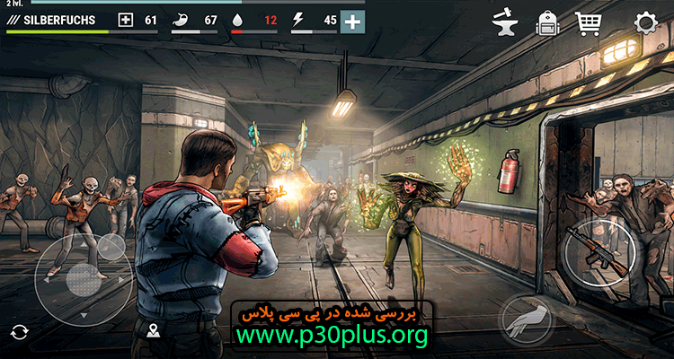 Dark Days : Zombie Survival دانلود بازی روز های تاریک  1.6.5 + مود اندروید
