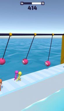 "Fun Race 3D دانلود بازی مسابقه ای ""ران ریس"" مسابقه پارکور"