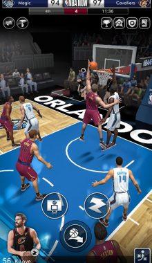 NBA NOW Mobile Basketball Game دانلود بازی بسکتبال زنده