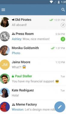 Nerogram دانلود اپلیکیشن غیر رسمی تلگرام نروگرام