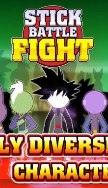 "Stick Battle Fight دانلود بازی ""استیک بتل فایت"" نبرد استیک"