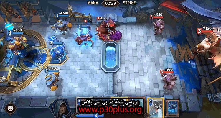 Magic : ManaStrike دانلود بازی استراتژیک