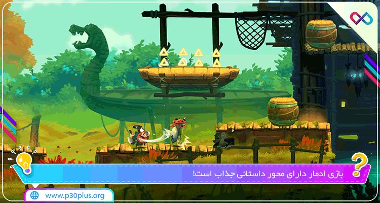بازی Oddmar Full 0.99  - دانلود بازی آدمار عجیب و غریب و ماجراجویی + دیتا + مود اندروید