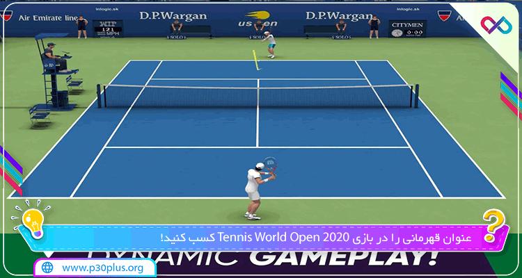 بازی Tennis World Open 2020 دانلود تنیس آزاد جهان 1.0.78
