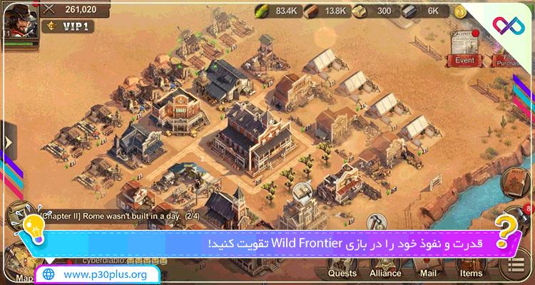 بازی Wild Frontier دانلود وایلد فرانتیر سرلشکر وحشی 1.5.3 + مود اندروید