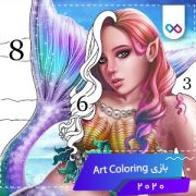 دانلود بازی Art Coloring - Coloring Book