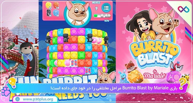 بازی Burrito Blast by Mariale انفجار بوریتو 1.3.9 مود اندروید