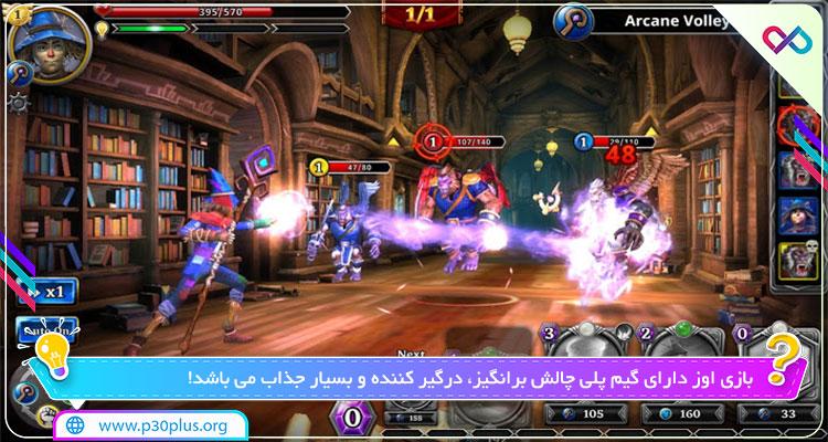 بازی ™ Oz : Broken Kingdom دانلود بازی اوز 3.2.2 مود اندروید