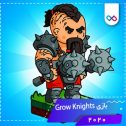 دانلود بازی Grow Knights - Merge Heroes And Conquer Castles گرو نایتس