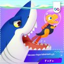 دانلود بازی Dinosaur Aqua Adventure - Ocean Games for kids دایناسور آکوا ادونچر