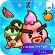 دانلود بازی Fruit & Ice Cream - Ice cream war Maze Game فروت اند آیس کریم