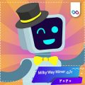دانلود بازی Milky Way Miner - Idle Clicker میلکی وی ماینر