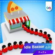 تصویر بازی Idle Bazaar