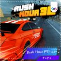 لوگوی بازی Rush Hour 3D راش آور تری دی