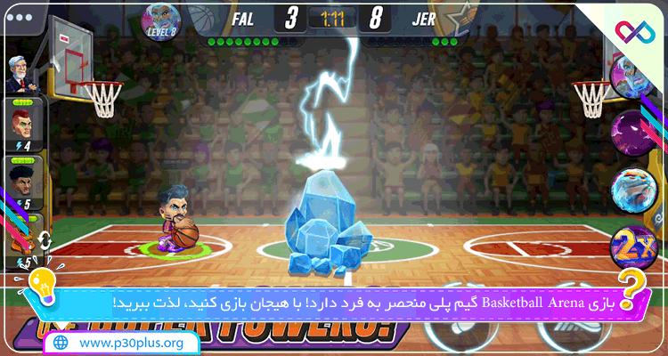 دانلود بازی Basketball Arena بسکتبال آرنا برای اندروید