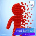 تصویر لوگوی بازی Pixel Rush - Epic Obstacle Course Game پیکسل راش