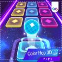 تصویر لوگوی بازی Color Hop 3D - Music Game کالر هاپ