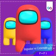 تصویر لوگوی بازی Impostor vs Crewmate ایمپاستر وی اس کرومیت