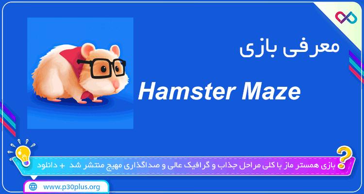 تصویر معرفی بازی Hamster Maze همستر ماز