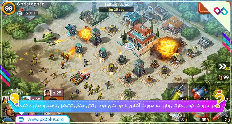 دانلود بازی Narcos : Cartel Wars . Build an Empire with Strategy نارکوس کارتل وارز برای اندروید